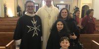 20210815 Wellington Bologna family with Abp Paul